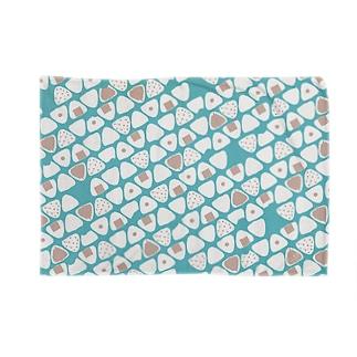 ONIGIRI(BLUE) Blankets