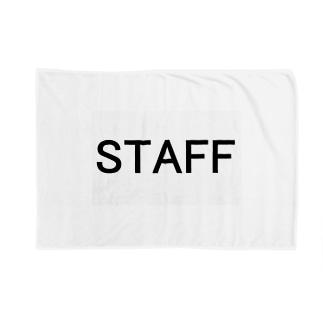 スタッフ STAFF が着用するやつ Blankets