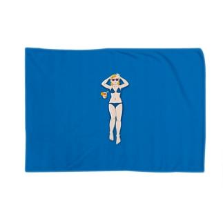 夏だ!海だ!プールだ!水着だ! Blankets