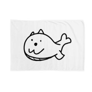 クジラマツモ Blankets