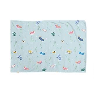 ウミウシ Blankets