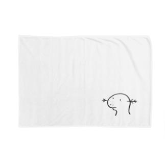 ウーパールーパー Blankets