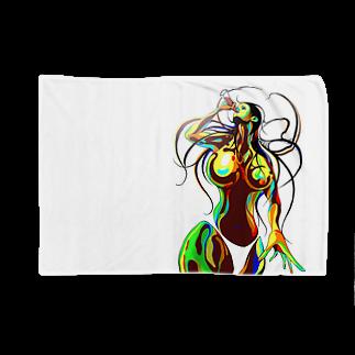 Hori shopのsummer girl Blankets