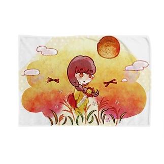 染まり始める秋色 Blankets