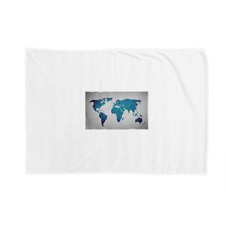 氷と水の世界地図 Blankets