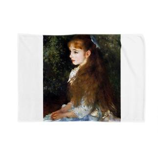 ルノワール 『 イレーヌ・カーン・ダンヴェール嬢 』 Blankets