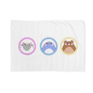 animal trio ☆ Blankets