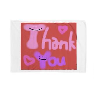 カラフルかわいいシリーズ Thank You Blankets