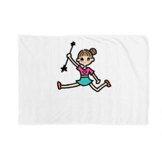 バトンガール Blankets