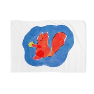りす Blankets