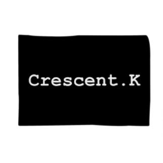 Crescent.K BLACK Blankets