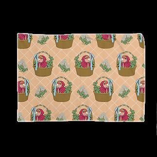 インコグッズ屋のコザクラインコとクローバー Blankets