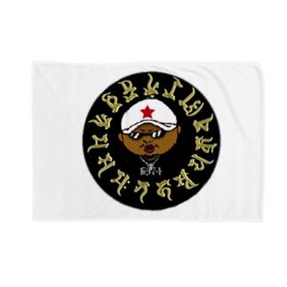 6974梵字 ブランケット Blankets