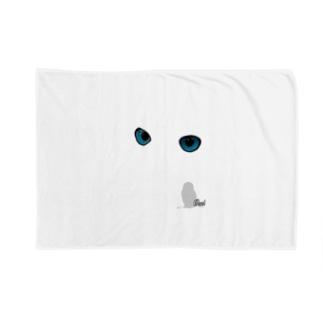owl's eye Blankets