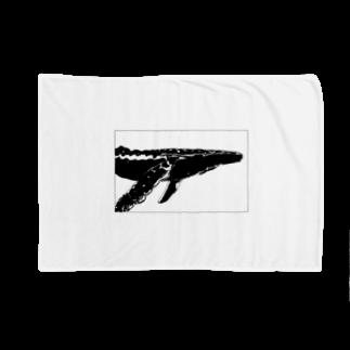 れいのTHE WHALE(クジラ) Blankets