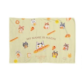 MYNAMEISHACHI Blankets