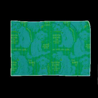 mya-mya=MIYA JUNKO's shop 02のGolden Doodle is the Perfect Dog Blankets