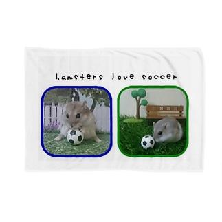 サッカー大好きハムスター Blankets