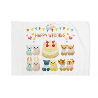 結婚おめでとう🎉プレゼントに最適なメッセージブランケット♪ Blankets