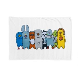 ウォンちゃんとその仲間たち全員集合 Blankets