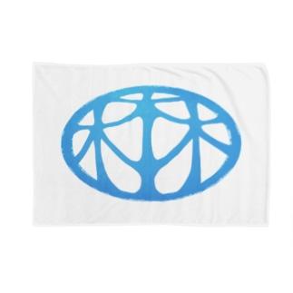 HARUYASUの細長ロゴマーク Blankets