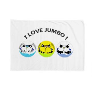 I LOVE JUMBO! Blankets