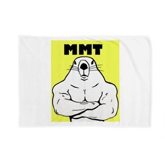 屈強なマーモット Blankets