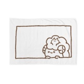 ひょっこりひつじさん(・ェ・@ Blankets