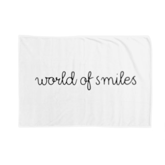 World of smiles ブランケット Blanket