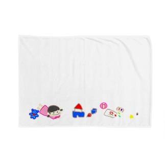 いっぱい遊ぶの Blankets