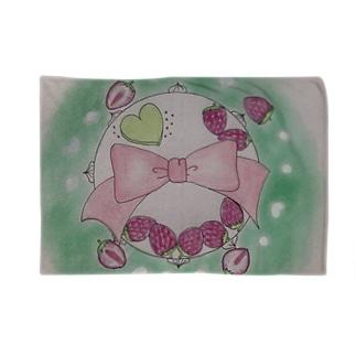 スイーツマンダラ ホールケーキいちごちゃん Blankets