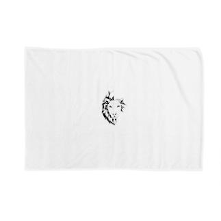 烏丸斗樹のブレない揺らぎ(モノクロver) Blankets