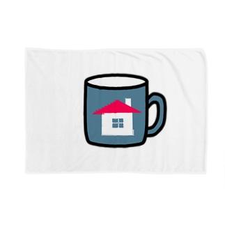 家マグ Blankets