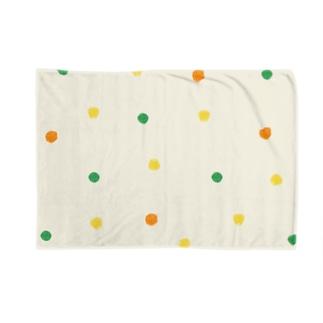mixvegetable(生成り) Blankets