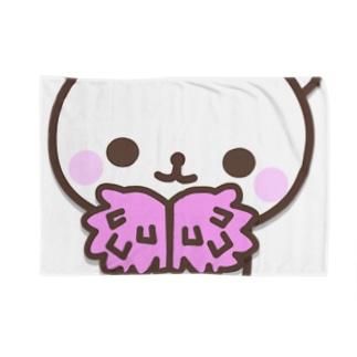 ファイトくまぁ Blankets