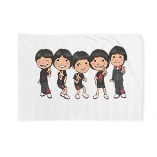 仲良し五人衆 Blankets
