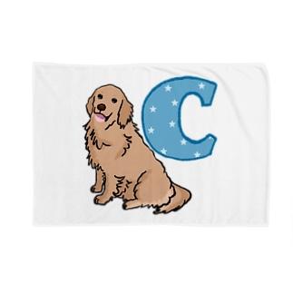 ゴールデンレトリーバー「C」 Blankets