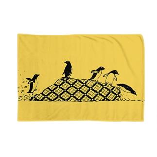 ペンギンズ イエロー Blankets