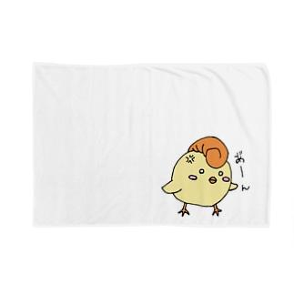 不良のぴよ助さん Blankets