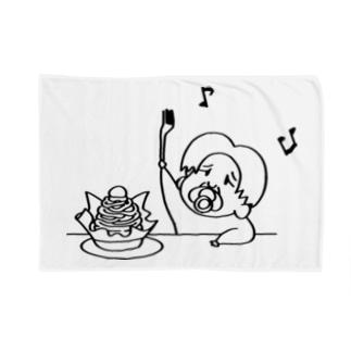 天才0才児ちやちゃん おやつ Blankets