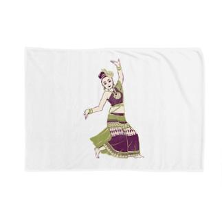 【タイの人々】伝統舞踊のダンサー Blankets