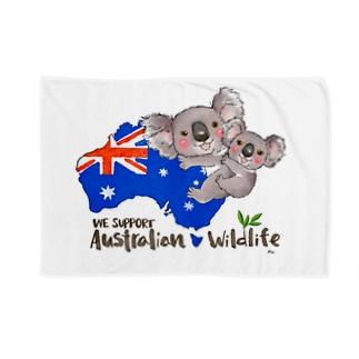 オーストラリアへの寄付 Blankets