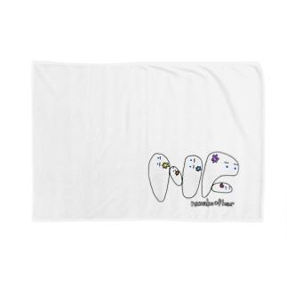 花なまこロゴ Blankets