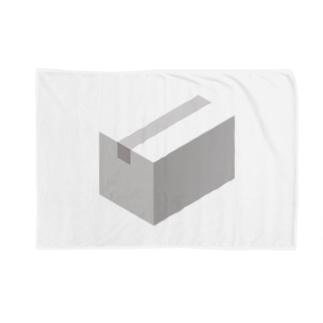 cardboard-box-mono Blankets