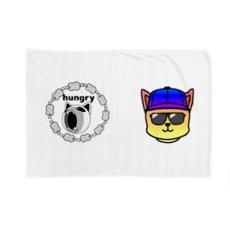架空バンドhungry VSfunkydog 対バングッズ Blankets