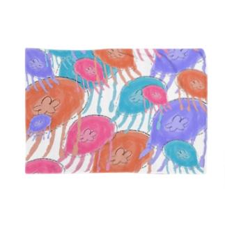 くらげクラゲ Blankets