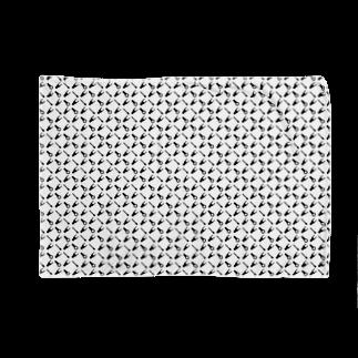 盤屋おしんの圧着端子パターン_モノクロ Blankets