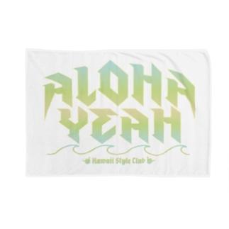ALOHA YEAH Blankets