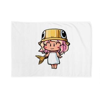 ゴールドのうおさん(魚座) Blankets