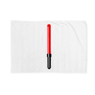 工事現場の誘導棒・誘導灯イラスト【マニアックなモノシリーズ】 Blankets